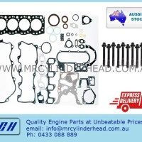 Toyota 3L full gasket set Head Bolt kit MCH