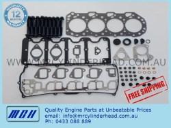 Isuzu 4JX1 VRS gasket set and head bolt kit
