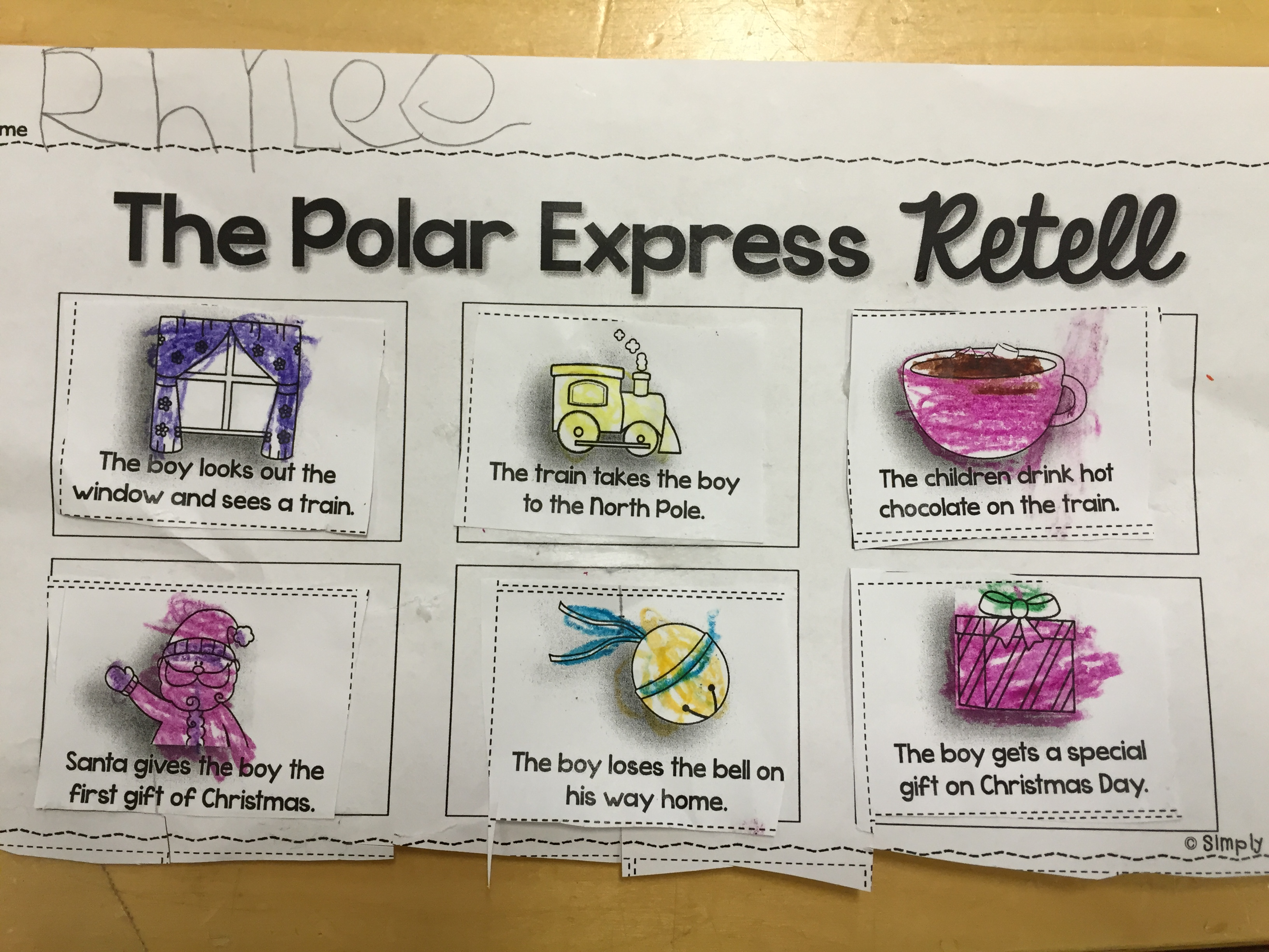Polar Express And Train Glyphs