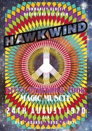 Hawkwind poster copy