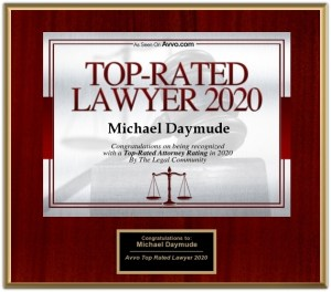 Plaque - Top-Rater Lawyer 2020