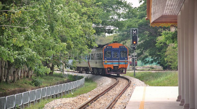 No More Butterworth-Bangkok International Express 36; Now Padang Besar-Bangkok Train 46