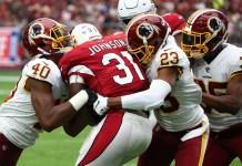 Arizona Cardinals vs Washington Redskins
