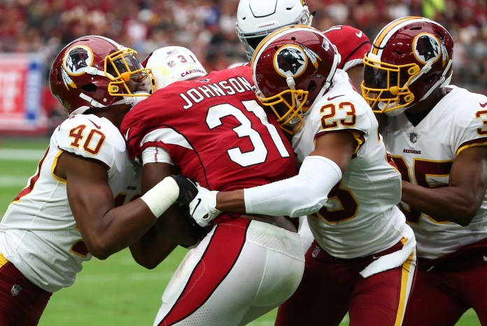Arizona Cardinals vs Washington Redskins