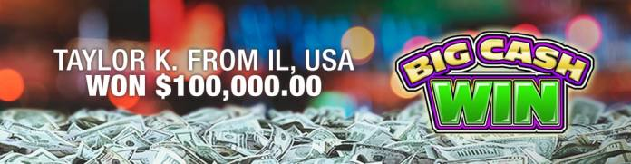 Bovada Big Cash Win Winner