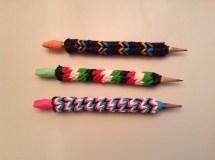 Rainbow Loom Pencil Cover
