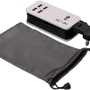 4 Port Usb Universal Portable Charging Station