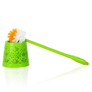 1Pc Toilet Brush With Flower Base