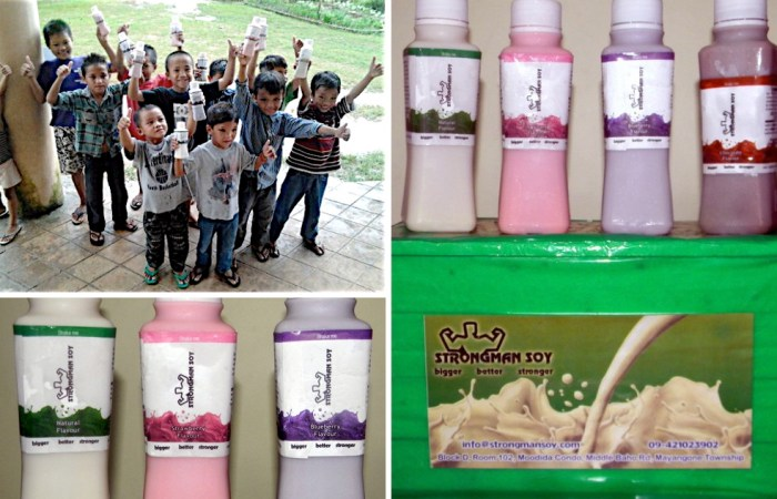 Milk for orphanage