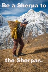 Be a Sherpa