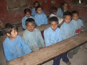 children in Babare