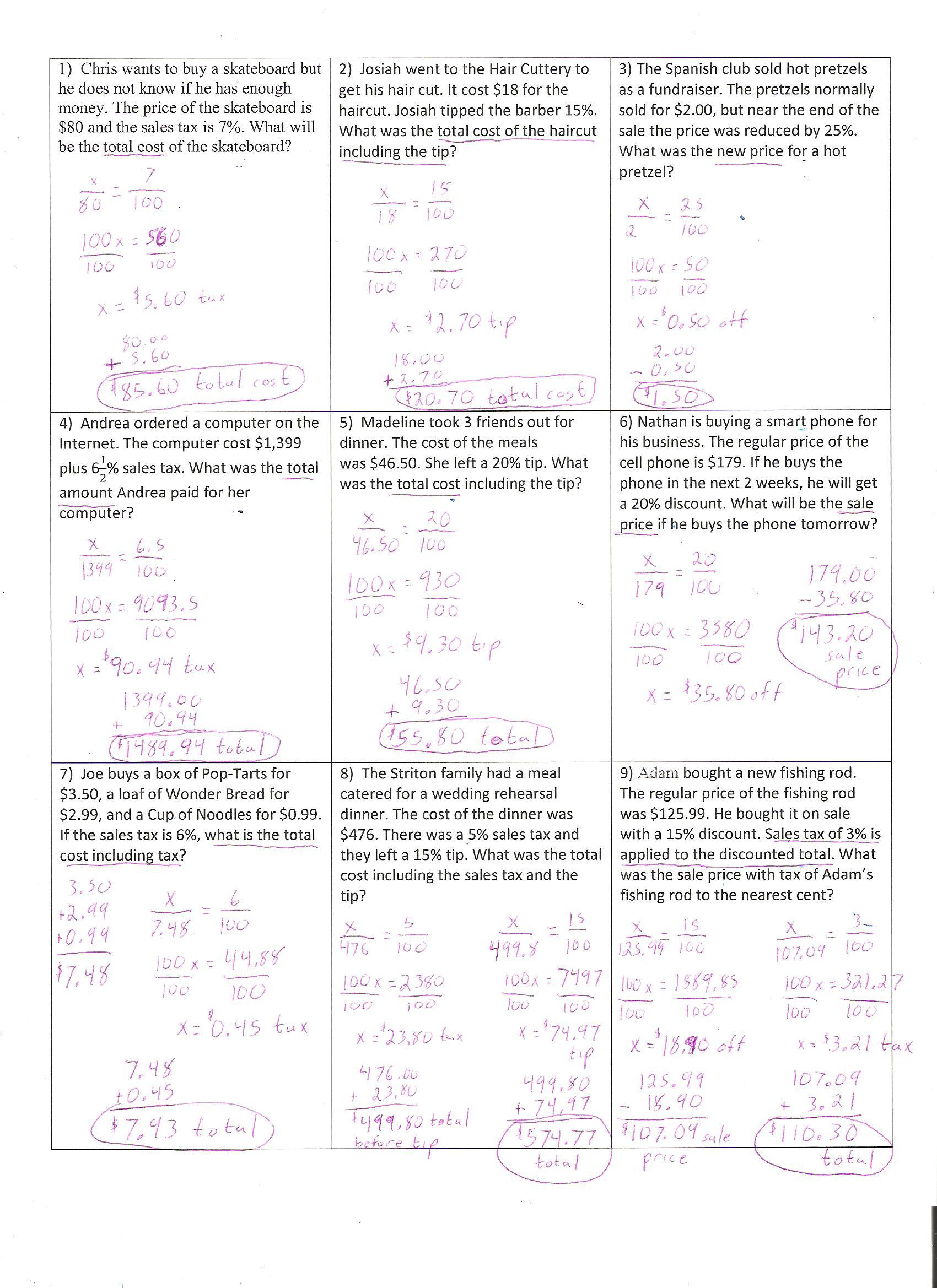 Course 2 Notes
