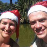Weihnachts-Selfie mit Nathali