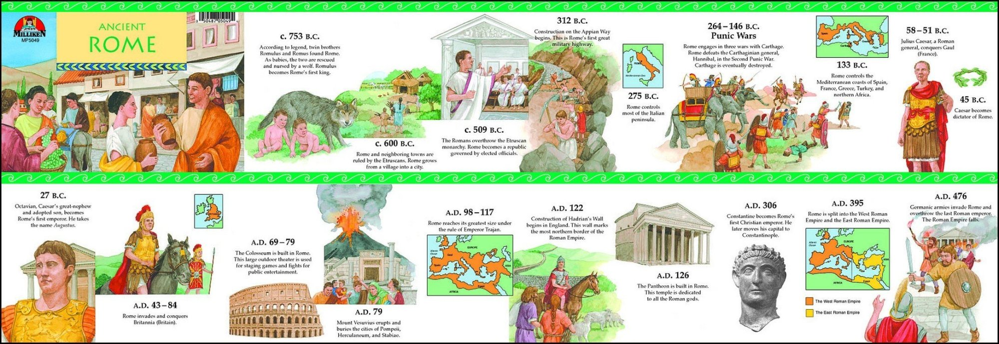 hight resolution of Ancient Rome