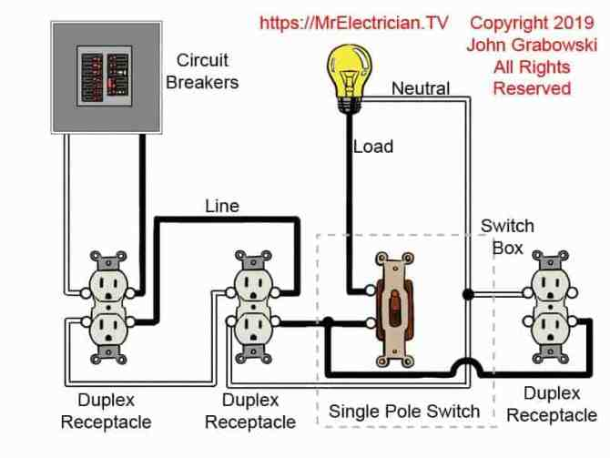 light switch wiring diagram choices