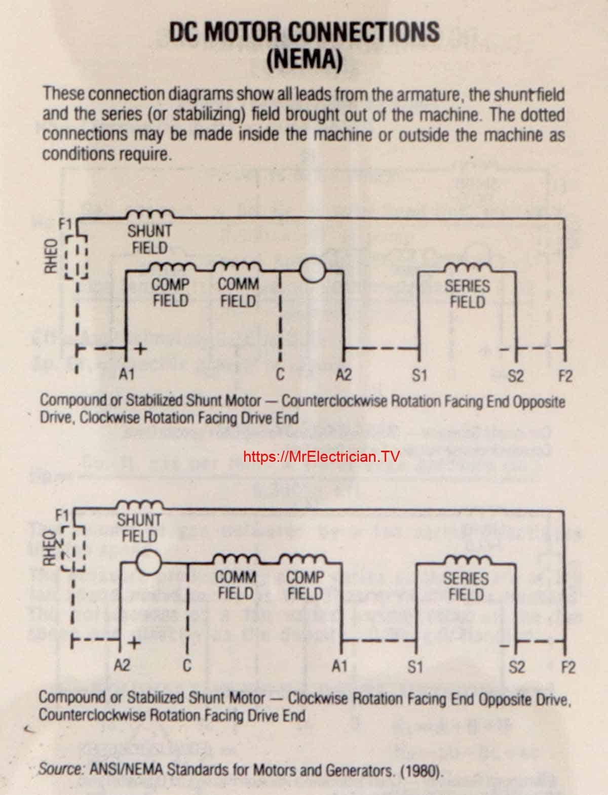 Capacitor Start Motor Wiring Diagram : capacitor, start, motor, wiring, diagram, Single, Phase, Electric, Motor, Diagrams