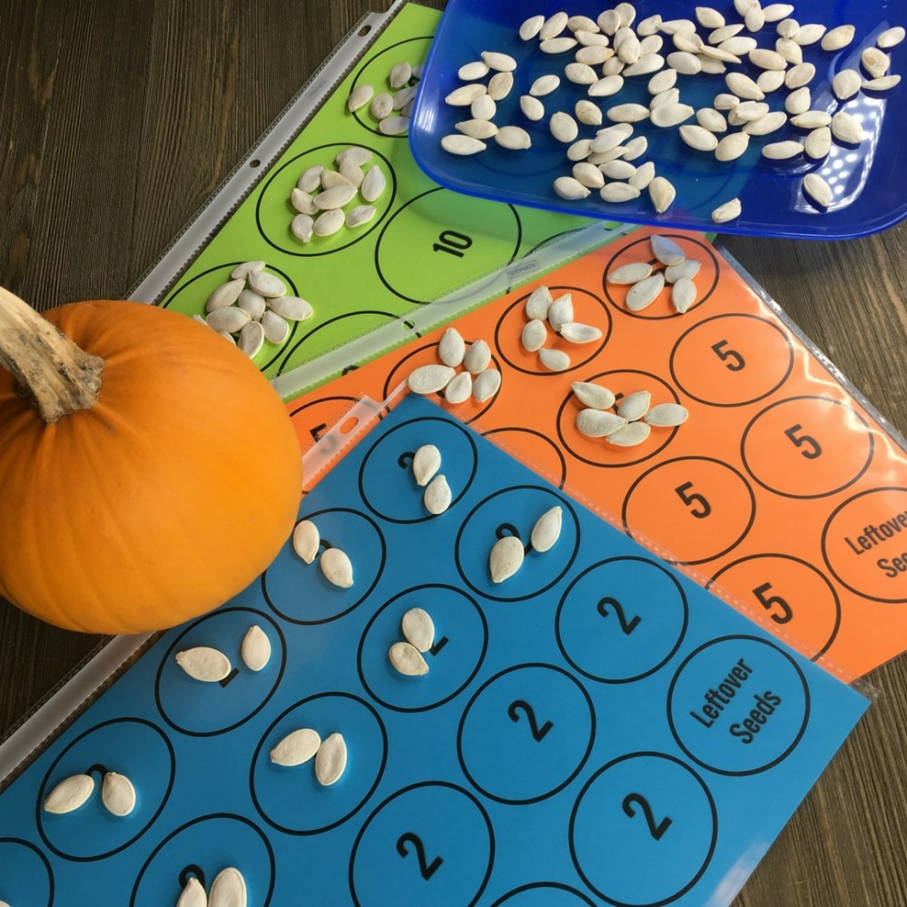 medium resolution of Pumpkin Math Investigations - Mr Elementary Math