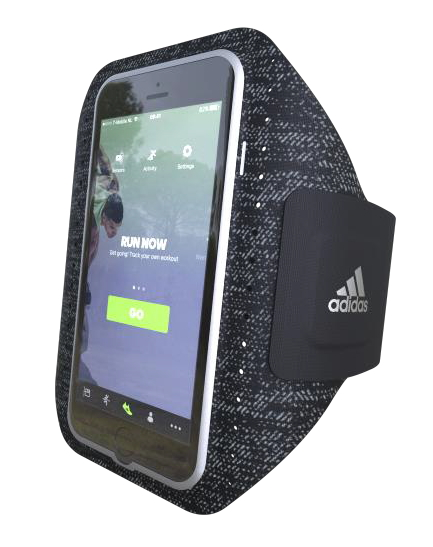 Adidas - Sport armband iPhone 8/7/6s/6 (black)