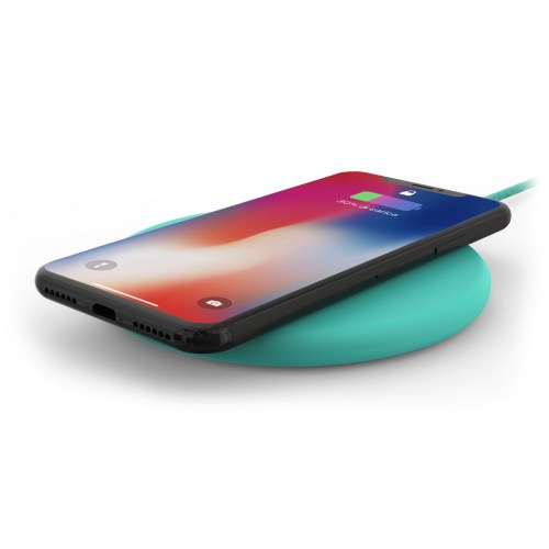 Philo - Qi Wireless Charging Pad (light blue)