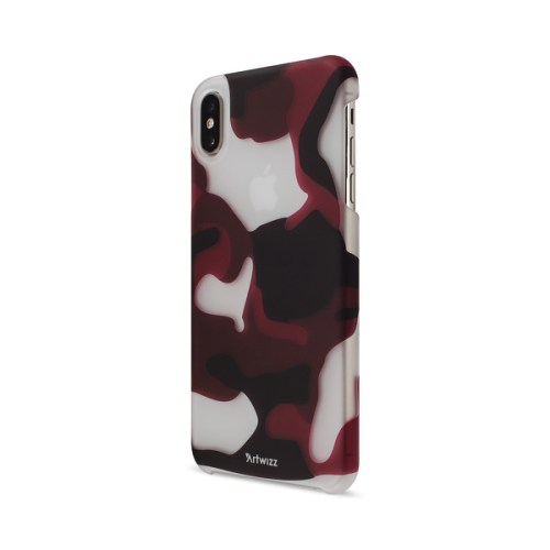 Artwizz - Camouflage Clip iPhone XS Max (red)