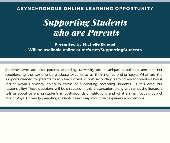 Supporting Students who are Parents - M Briegel