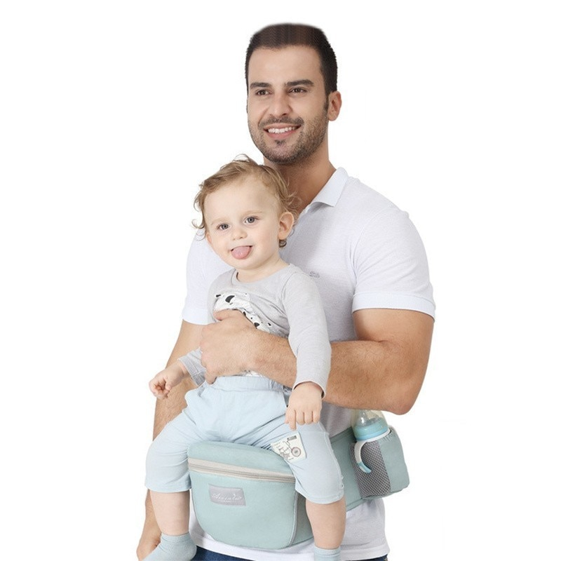 Ergonomic Baby Carrier Waist Stool With Waist Belt Hipseat for Kids 3 to 36 months