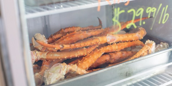 King Crab Legs from Mr Fish