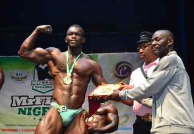 Meet Akin Coker, The Silver Medalist Heavy Weight Category, Mr Flex Nigeria 2019.