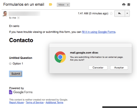 google-forms-email