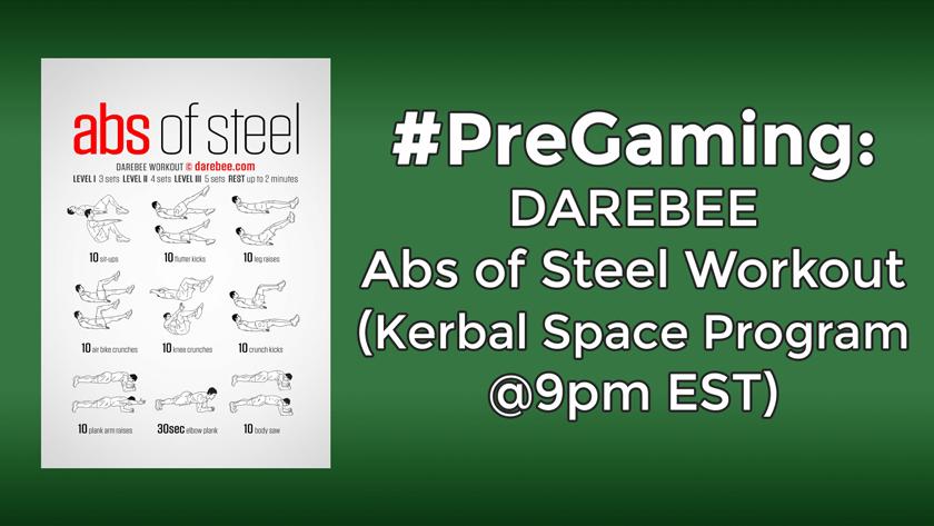#PreGaming: DAREBEE Abs of Steel
