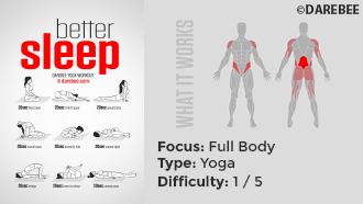 #PreGaming Panel DAREBEE Better Sleep Yoga