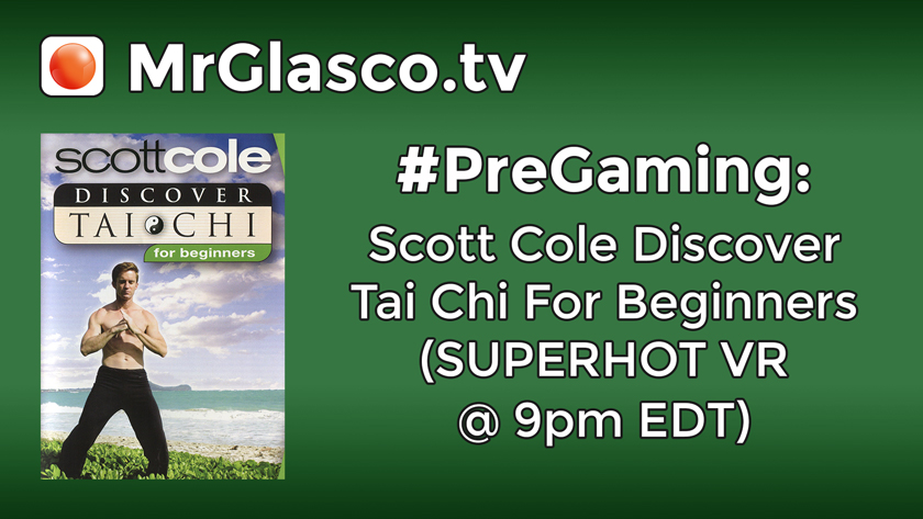 #PreGaming: Scott Cole Discover Tai Chi for Beginners DVD