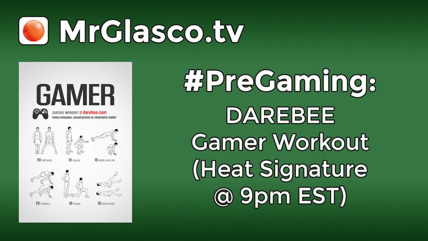 DAREBEE Gamer Workout