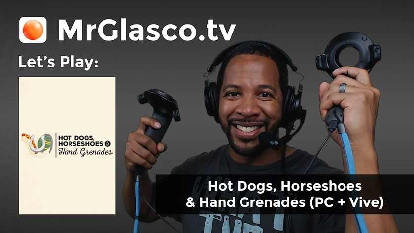 Let's Play: Hot Dogs, Horseshoes & Hand Grenades (PC + Vive), Happy 4th of July!