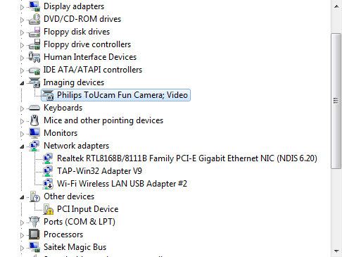 Win7 - Philips Toucam Windows 7 Driver fix - Problem solved!