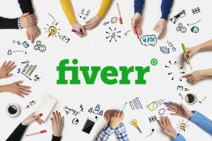 fiverr home page freelancer