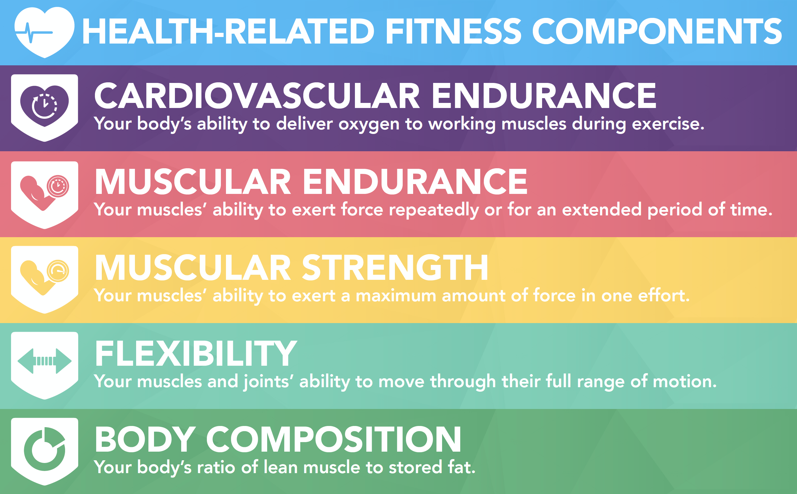 Health Related Components Of Physical Fitness