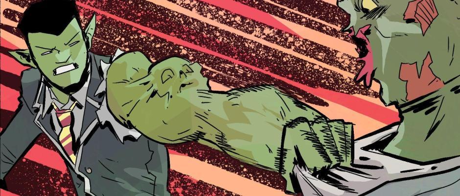 Mr. Guy Zombie Hunter Act 1 sa,ple art