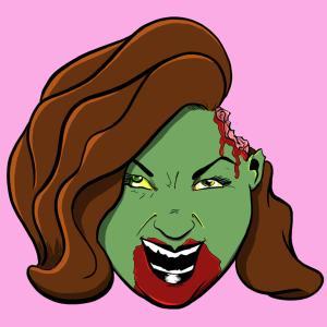 Mr. Guy Zombie Hunter, Artist Zombie bio pic for Sophia Murphy