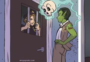 Mr. Guy Zombie Hunter Act 1 sample art