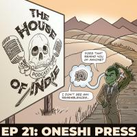 Jayel Draco and Lynsey G talk to Joey Galvez from The House of Indie Podcast about Mr. Guy Zombie Hunter and the Origins Anthology