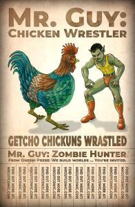mr guy chicken wrestler