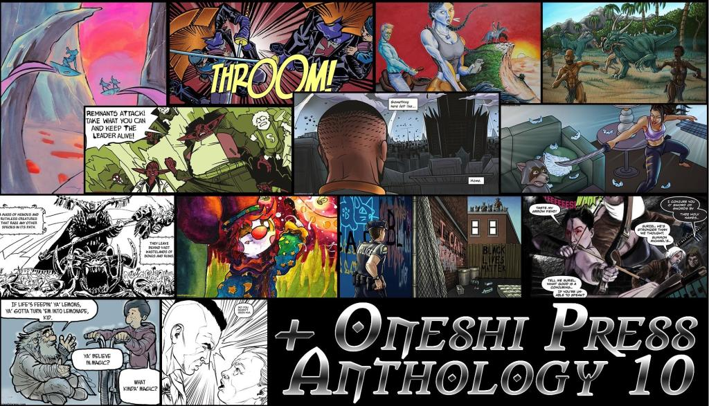 oneshi press origins anthology variety of comics jayel draco interview