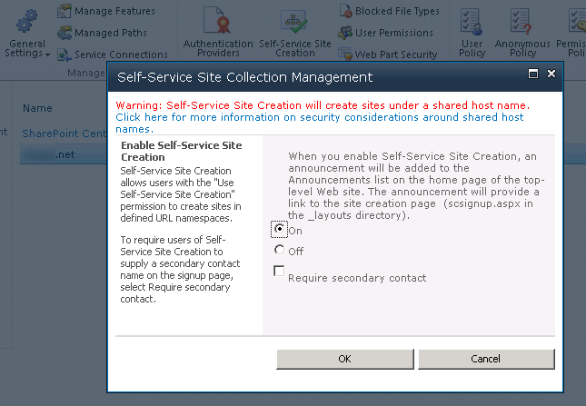 Repairing missing My Site and My Profile links in SharePoint 2010 (5/6)