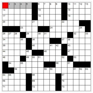 Math, Music, and Crossword Puzzles « Mr Honner