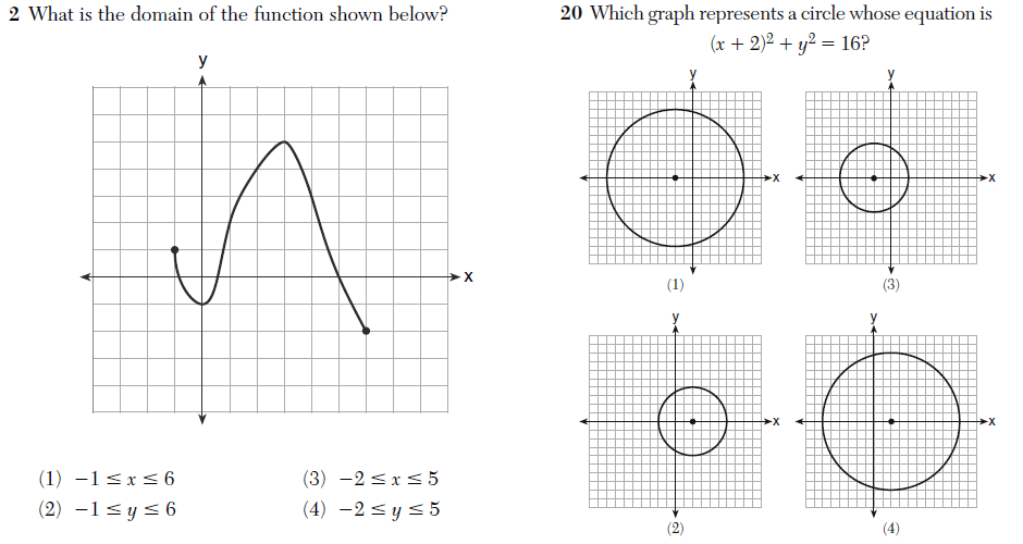 algebra 2/algebra 2/trigonometry regents exam answers