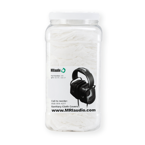 MRI Disposable Headphone Cloth Covers for infection control
