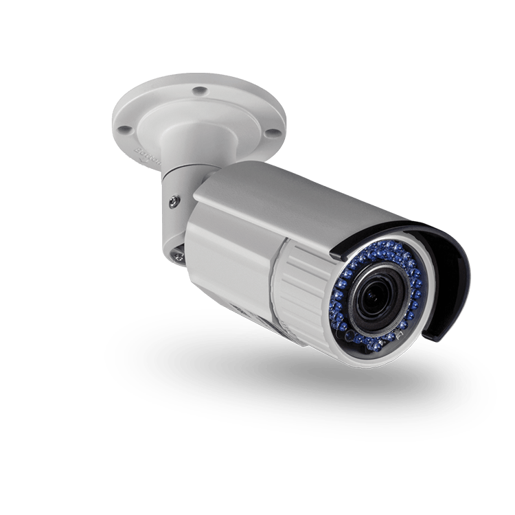 2 MP 1080p Varifocal PoE IR Network Camera