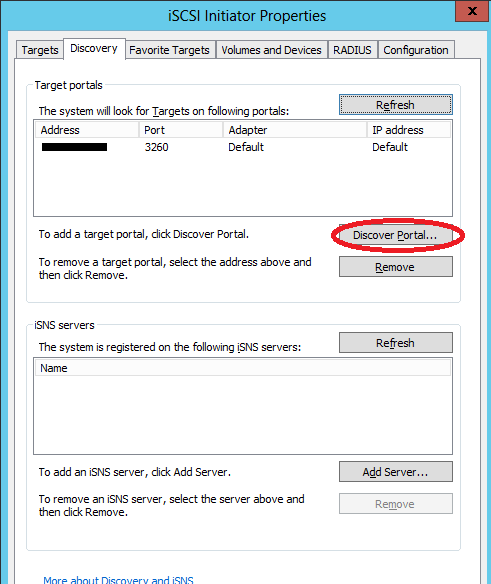 Veeam direct SAN access via iSCSI – CCNP Pro