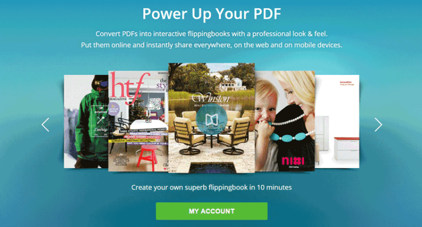 FlippingBook PDF Publisher